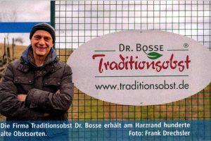 """""""Unser Land"""", Sachsen-Anhalt, Nordausgabe Frühjahr/ Sommer 2020 / Dr. Bosse Traditionsobst im Interview"""